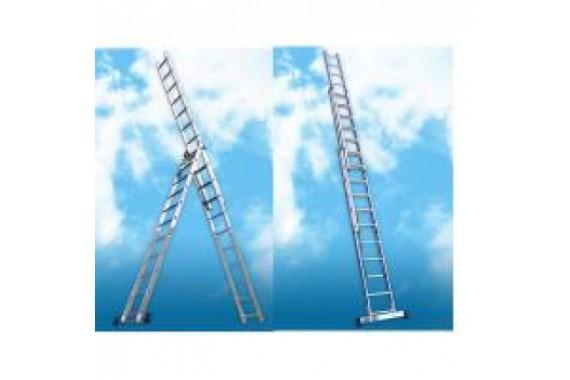 Лестница-стремянка Алюмет 5311 3×11