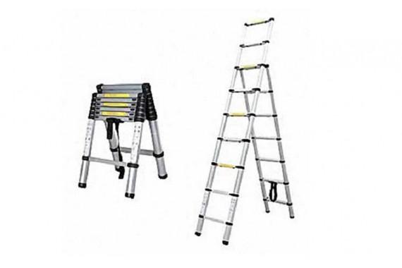 Лестница-стремянка телескопическая