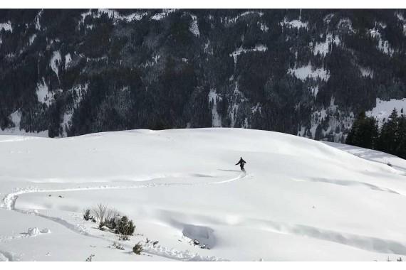 Лыжи + ботинки + палки