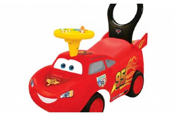 Машинка-каталка Kiddieland + «Маккуин»