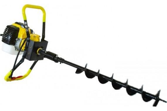 Мотобур бензиновый Калибр БС-1500 диаметр бура от 10 до 27 см