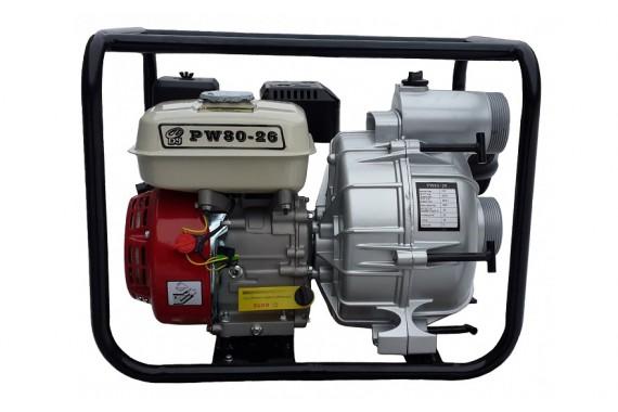 Мотопомпа грязевая бензиновая Dajo 80-26