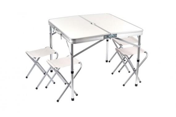 Стол 80х80 + 4 стула