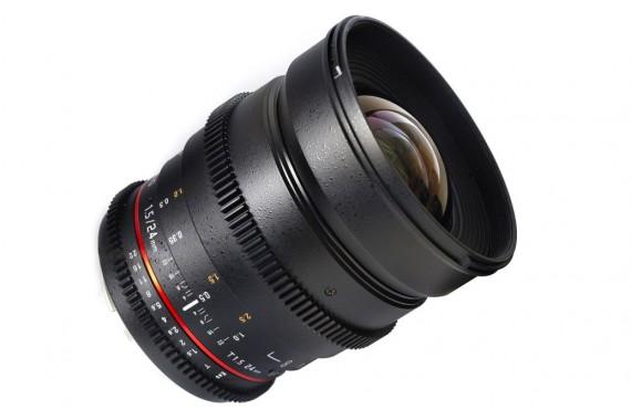 Объектив Samyang 24 mm f/1.5 ED AS UMC VDSLR для Canon