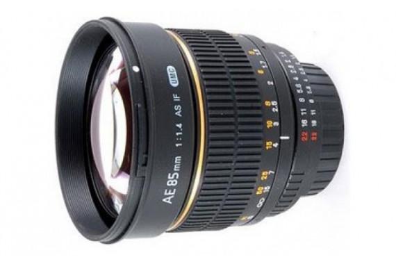 Объектив Samyang 85 mm f/1.4 AE для Nikon
