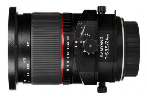 Объектив Samyang Tilt-Shift 24mm f/3.5 T-S ED AS UMC для Canon