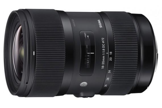 Объектив Sigma 18-35 mm f/1.8 DC HSM для Canon