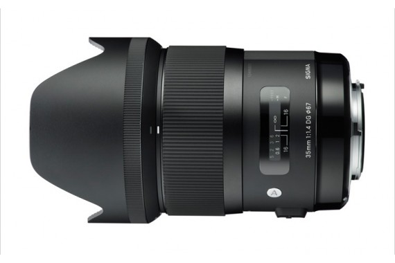 Объектив Sigma 35mm f/1.4 EX DG HSM для Canon