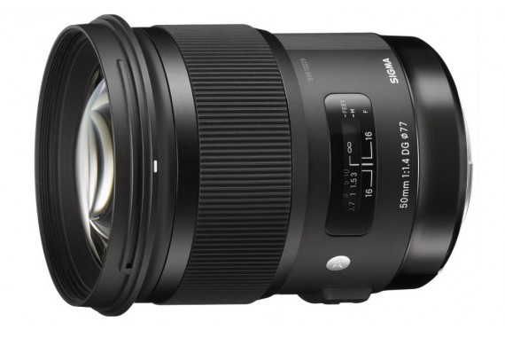 Объектив Sigma 50 mm f/1,4 EX DG HSM Art для Canon