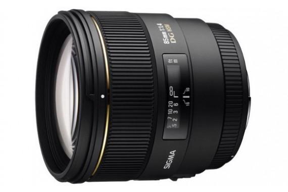 Объектив Sigma 85 mm f/1.4 EX DG HSM для Nikon
