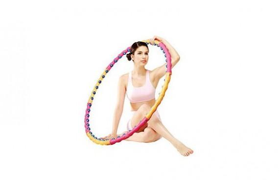 Обруч Хула-хуп (Health Hoop) магнитный