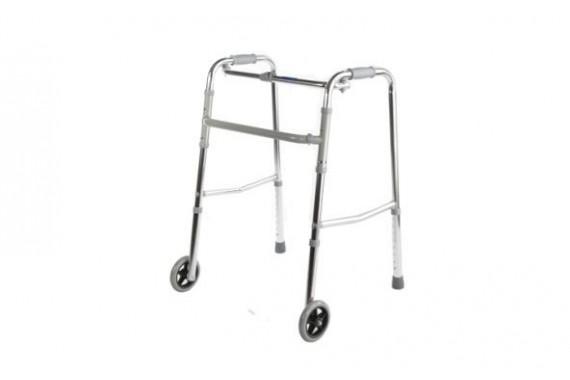 Опорные ходунки с колесами, складные