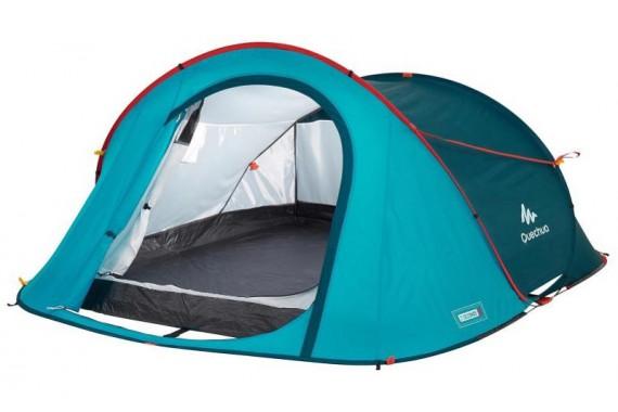 Палатка трехместная Quechua 2 Seconds