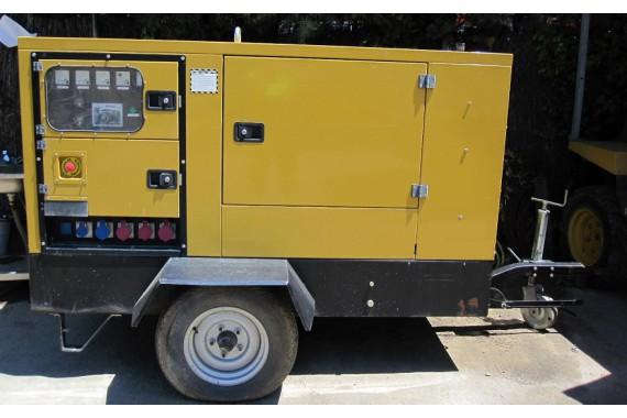 Передвижной дизельный генератор Gesan DPS20