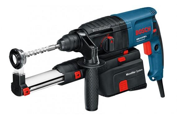 Перфоратор Bosch GBH 2-23 REA плюс система пылеудаления