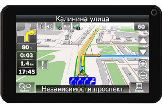 Планшетный GPS навигатор Plark P21