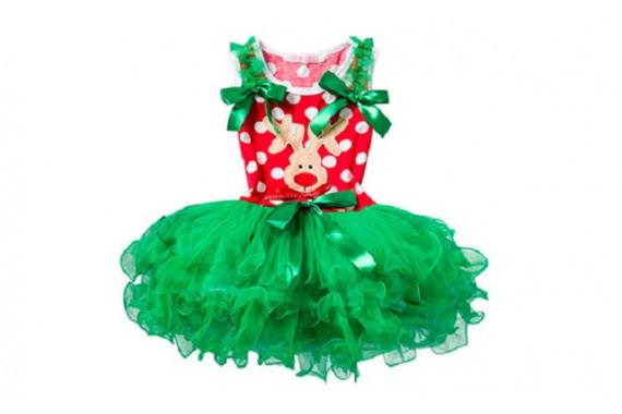 Платье «Рождественский олень»