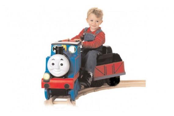 Поезд с электроприводом Tomas & Friends PegPerego