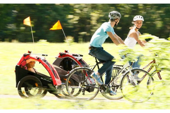 Прокат велоприцепов для детей, для грузов и животных