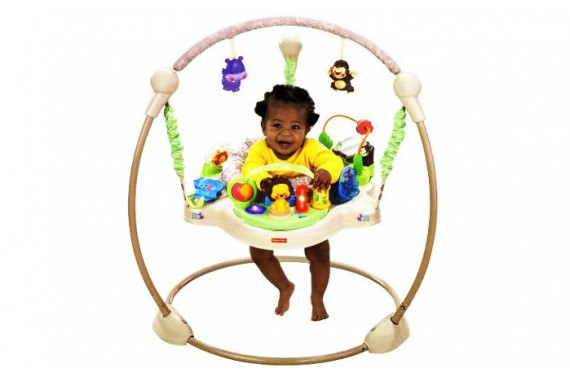 Прыгунки Fisher Price jumperoo «Khaki sands»