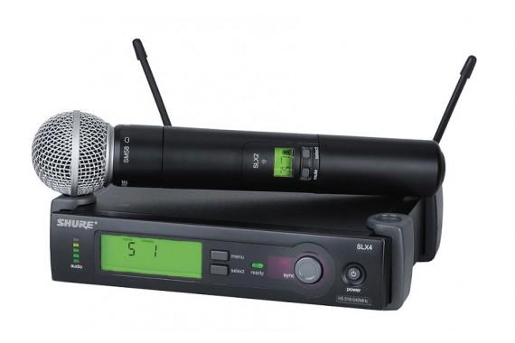 Радиомикрофон Shure SLX4 / Beta58
