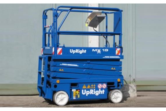 Самоходный ножничный подъемник Upright MX19