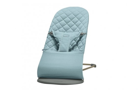 Шезлонг Babybjorn Bliss Bouncer Balance Vintage Turquoise Cotton