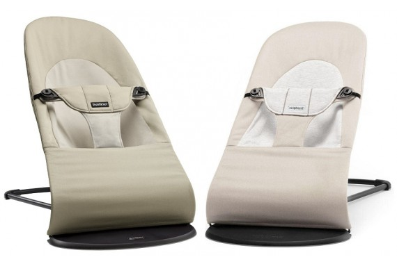 Шезлонг Babybjorn Bouncer Balance Soft Khaki Beige Cotton