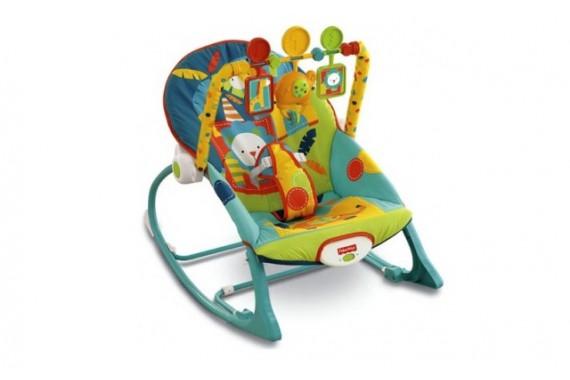Шезлонг-кресло-качалка Fisher Price «Сафари»