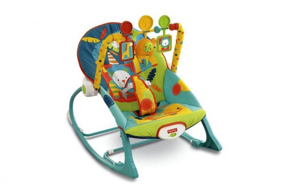 Шезлонг Сафари Fisher Price