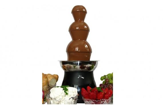 Шоколадный фонтан CF-0401S, 55 см (черный)