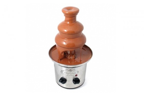 Шоколадный фонтан Chocolate Fondue Fountain 40 см