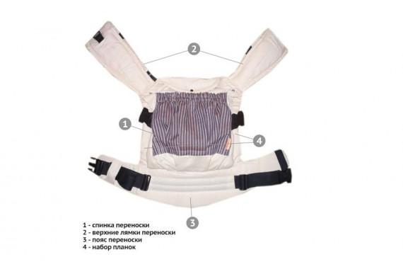 Слинг-рюкзак для мальчиков «Будущая гордость страны» «Пушкин»