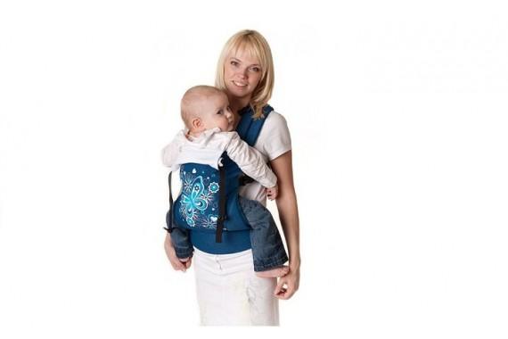 Слинг-рюкзак I Love Mum двусторонний