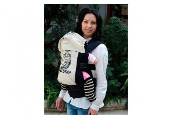 Слинг-рюкзак серии «Гармония» «Снежный барс»