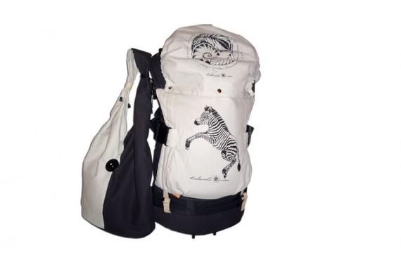 Слинг-рюкзак серии «Гармония» «Зебра»