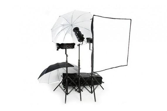 Студийный комплект света в аренду Bowens Gemini 750 Pro / 750 Pro / 750 Pro Kit