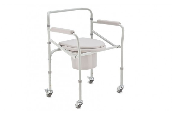 Стул-туалет на колесах H005B