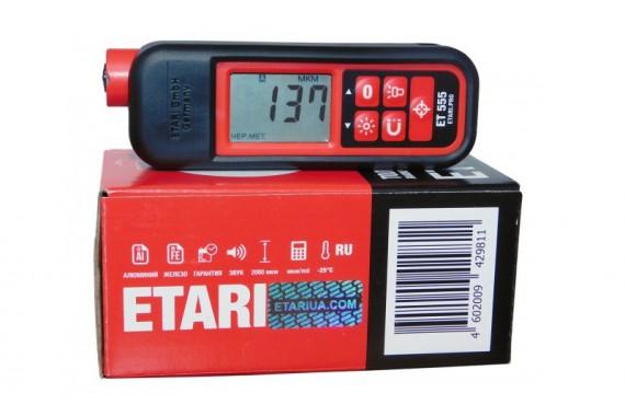 Толщиномер ET-555 new2017