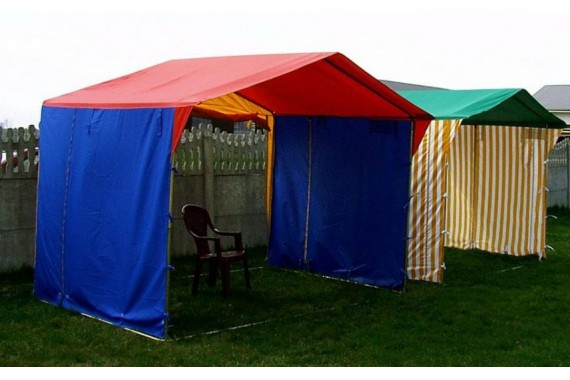 Торговая палатка «Домик» 3м х 2м (6 м.кв.)
