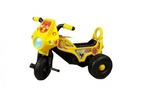 Трехколесный велосипед-мотоцикл