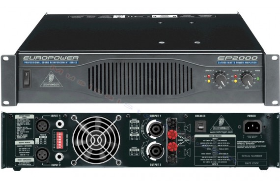 Усилитель мощности Behringer EP2000 Europower