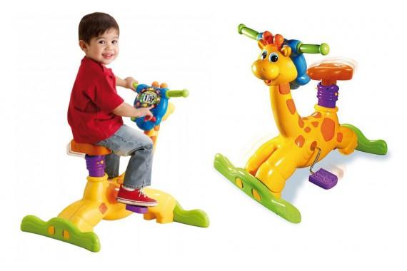 Велосипед-тренажер «Жираф» VTech Ride Learn Giraffe Bike