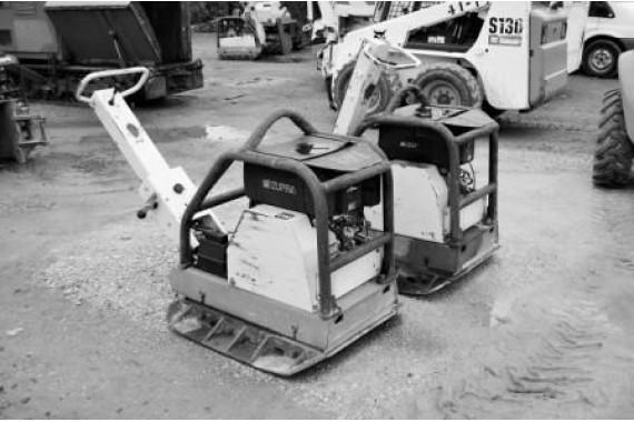 Виброплиты реверсивные дизельные 500 кг
