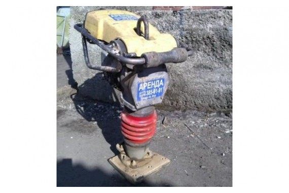 Вибротрамбовка (вибронога) бензиновая