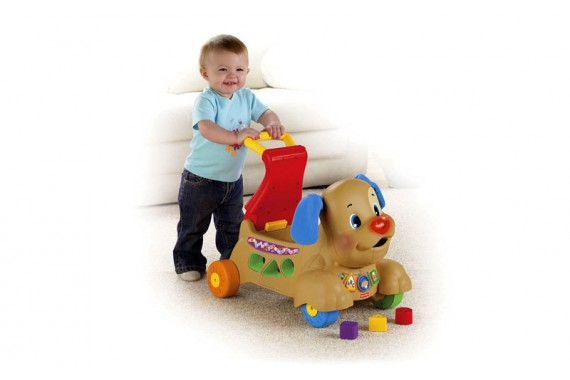 Ходунки-каталка Fisher Price «Щенок»