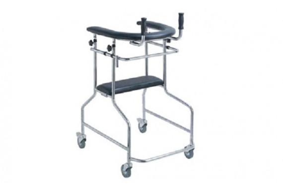 Ходунки-опоры ортопедические LK3003W на 4-х колесах