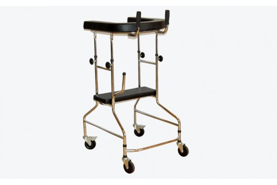 Ходунки-опоры ортопедические на 4-х колесах LK3003W